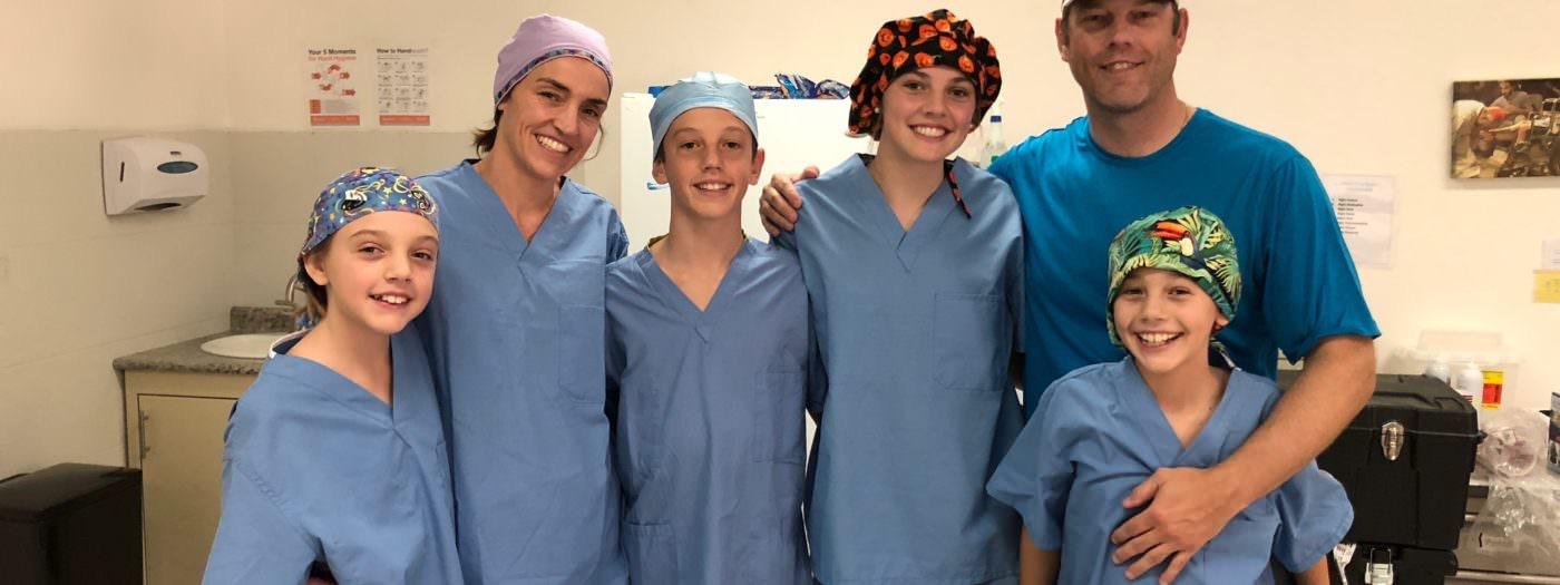 Dr. Hollis & Family